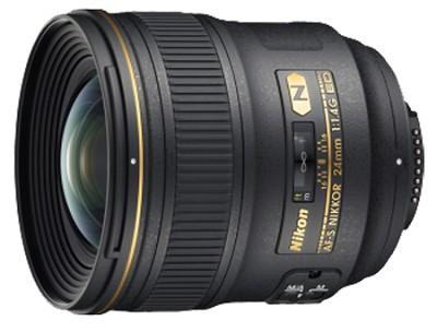 AF-S FX Full Frame NIKKOR 24mm f/1.4G ED Wide-Angle Prime Lens - REFURBISHED