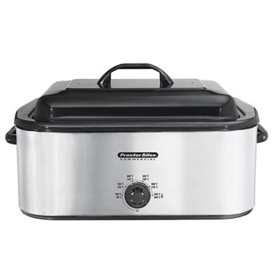 32230A - Stainless Steel Roaster Oven, 22-Quart