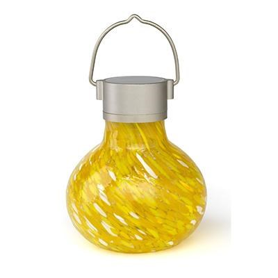 GLOW Solar Tea Lantern Saffron