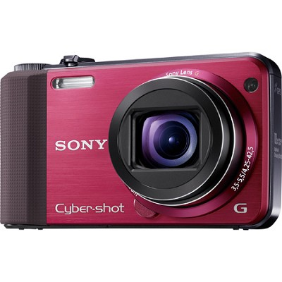 Cyber-shot DSC-HX7V Red Digital Camera