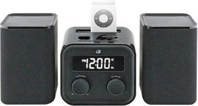 Home Music System with Radio and MP3 Docking Pin (Black)