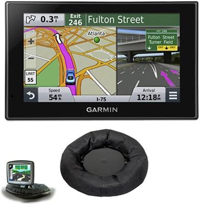 nuvi 2539LMT Advanced Series 5` GPS Navigation System Friction Mount Bundle