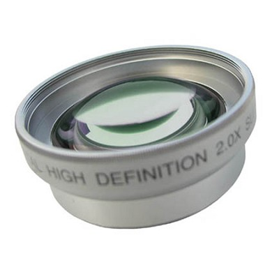 Pro 2x Teleconverter - for 37mm threading (silver)