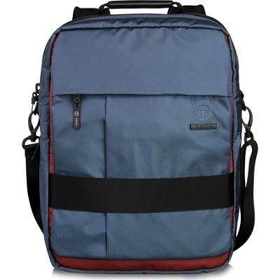 T-Tech Civilian Jons Top Zip Brief Pack (Storm Blue/Sienna Red)
