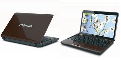Satellite L745D-S4220BN 14 Inch Matrix Brown Notebook