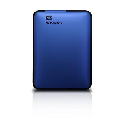 My Passport 500 GB USB 3.0 Portable Hard Drive - (Blue) - OPEN BOX