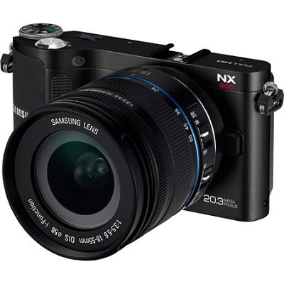 NX200 20.3 MP Compact System Camera with 18-55mm Lens
