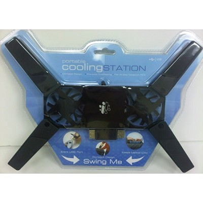 Portable Cooling Station A Cooling Fan to place under your  Laptop.
