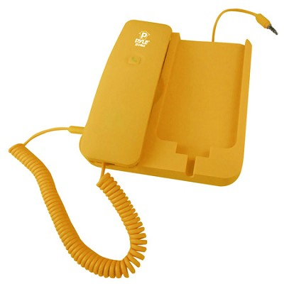 Handheld Phone and Desktop Dock for iPhone,Ipad & Android - Yellow