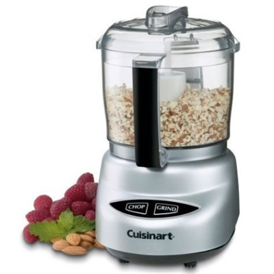 DLC-2ABC Mini Prep Plus Food Processor - Brushed Chrome - Cuisinart Refurbished