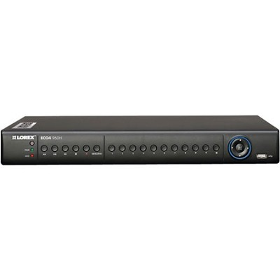 ECO4 Series 2TB Security DVR with 960H Recording and Stratus Connectivity