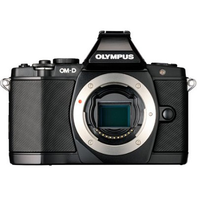 OM-D E-M5 16 MP Live MOS Interchangeable Lens Camera (Black Body Only)