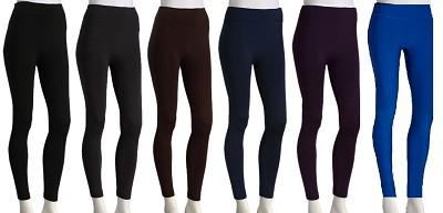3-Pack Fleece Leggings Variety Colors Pack M/L