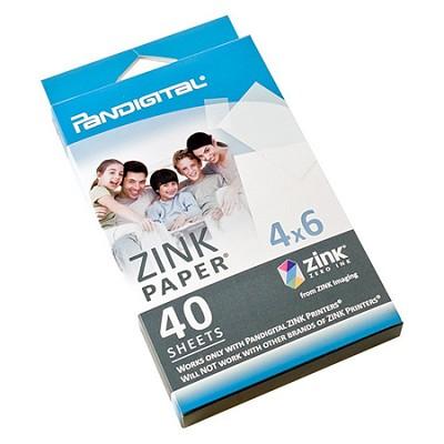 Paper for Zero Ink Printer - 40 Sheet Pack