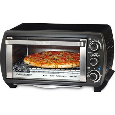 Platinum Edition 6-Slice Toaster Oven - Gray/Silver