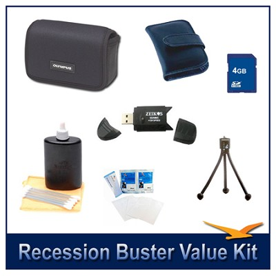 Value  Kit For compact digital cameras (Camera Not included)