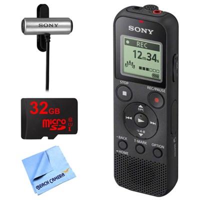 PX370 Digital Voice Recorder w/ 32GB Bundle