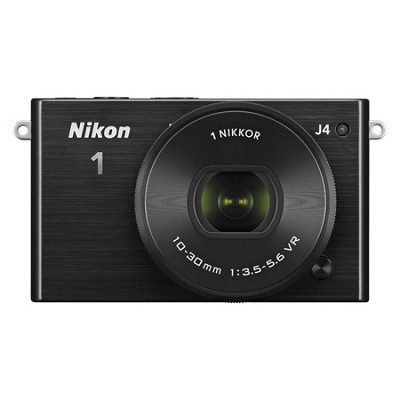 1 J4 Mirrorless Digital Camera with 10-30mm Lens - Black