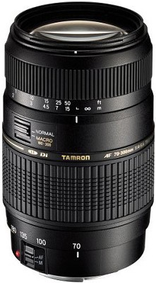 70-300mm f/4-5.6 DI LD 1:2 Macro for Nikon AF w/ 6-Year USA Warranty-OPEN BOX
