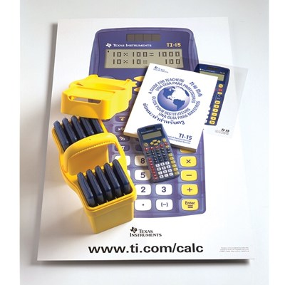 Teacher Calculator Kit - TI15TK