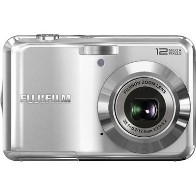 FinePix AV100 12 MP 3x Zoom Digital Camera (Silver)