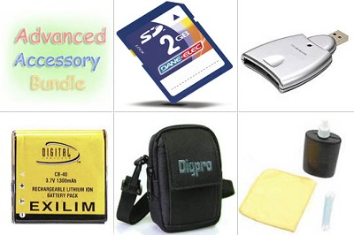 Bargain Accessory Bundle for Casio Exilim  Z- Series Digital Cameras