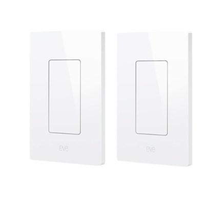 Eve Wireless Smart Light Switch (2-Pack)