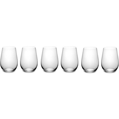 260 Years Celebration O Tumblers for Riesling/Zinfandel; 6 Glasses (7414/56-260)