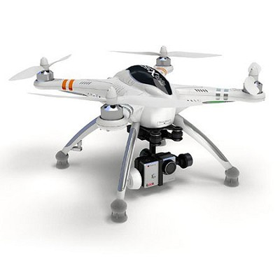 Quadcopter, DEVO F7 Remote, 2-Axis Gimbal, GoPro (Camera Not Included)