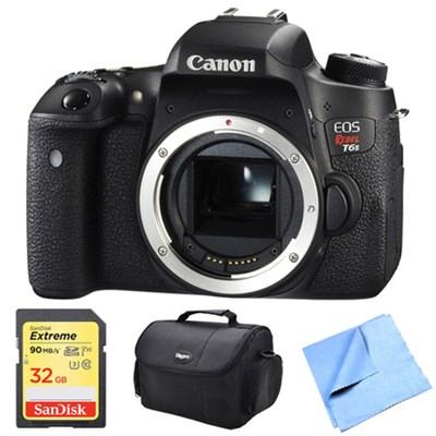 EOS Rebel T6s Digital SLR Camera Body 32GB Bundle