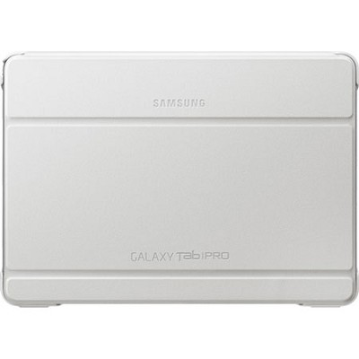 White Book Cover for 10.1` Galaxy Tab Pro Tablet