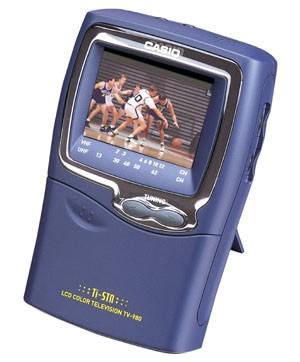 TV-980 Handheld Color TV w/ 2.3` Screen