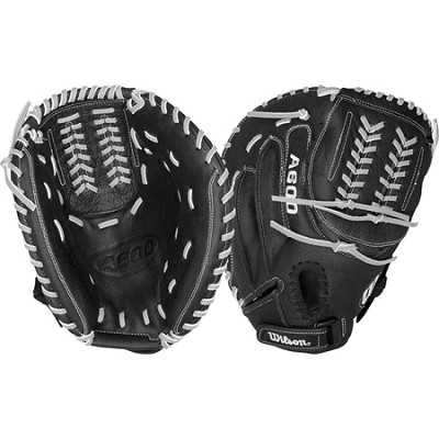 A600 Fastpitch Youth Catcher's Mitt - Right Hand Throw - Size 33`