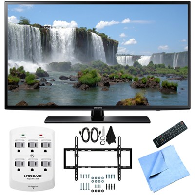 UN55J6200 - 55-Inch Full HD 1080p 120hz LED HDTV Flat & Tilt Wall Mount Bundle