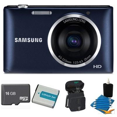 ST72 Digital Camera Black 16GB Kit
