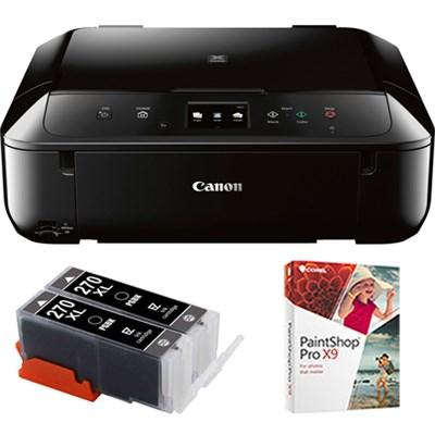 PIXMA MG6820 Wireless Inkjet All-In-One Multifunction Printer w/ Ink Carts