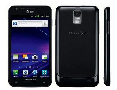 Galaxy S II SGH-I727 - 16GB - Black Unlocked Smartphone