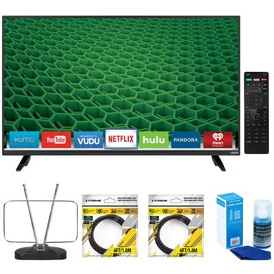 D40-D1 D-Series 40-inch Full-Array LED Smart 1080p HDTV w/ Accessories Kit