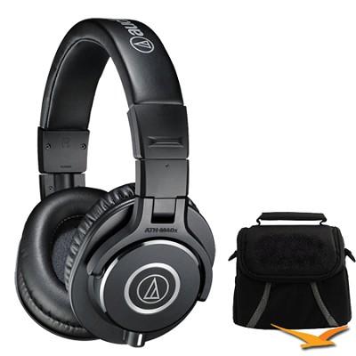 ATH-M40x Professional Headphones Deluxe Bundle