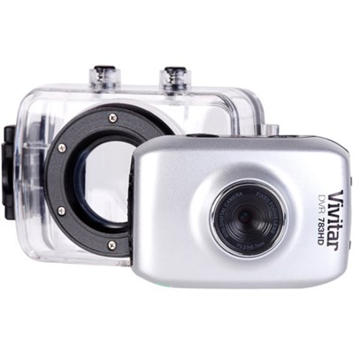 HD Action Waterproof Camera / Camcorder - Silver DVR783HD-SIL