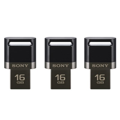3-Pack of 16GB USB 3.0 Flash Drive for Smartphone and Tablets (Total 48 GB)