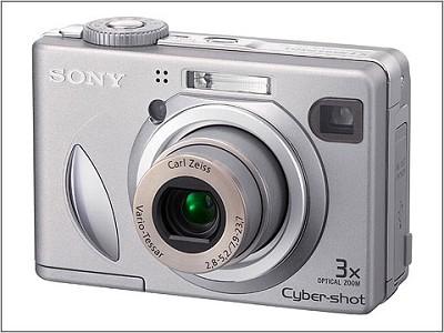 Cyber-shot DSC-W5 Silver Digital Camera