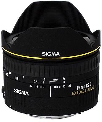 15mm F2.8 EX DG DIAGONAL Fisheye for Canon EOS SLR Cameras