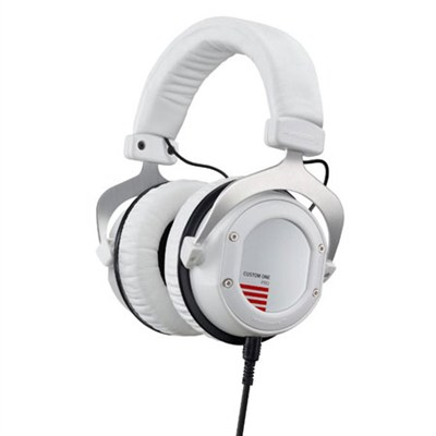 709093 Custom One Pro Plus Interactive Headphones - White
