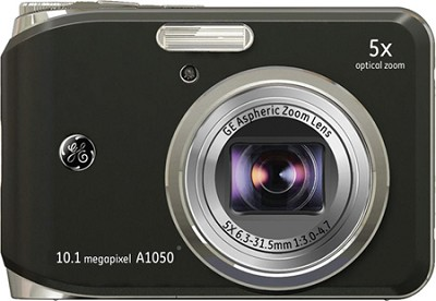 A1050 10.1MP 2.5` LCD 5x Zoom Digital Camera (Black)