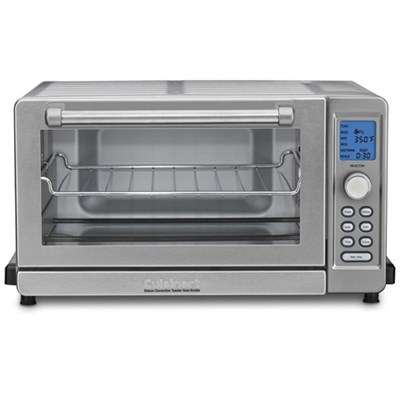 TOB-135 Deluxe Convection Toaster Oven Broiler, Brushed Stainless Refurbished