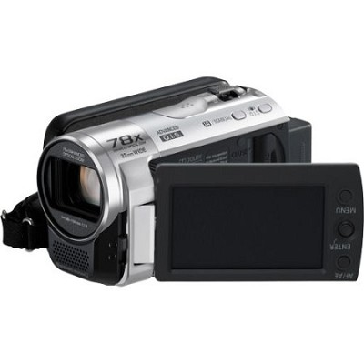 SDR-H100/S 80GB Hard Drive Silver Camcorder
