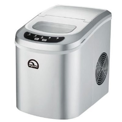 Compact Ice Maker - ICE102-SILVER