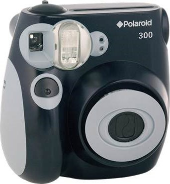 300 Instant Camera, Black