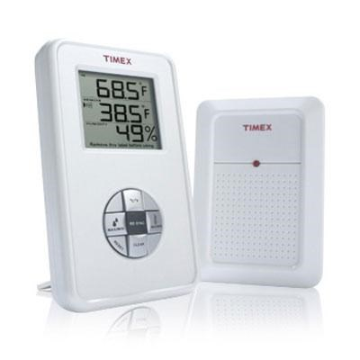 Timex Wireless Electronic Indoor/Outdoor Thermometer with Hygrometer - TX6010